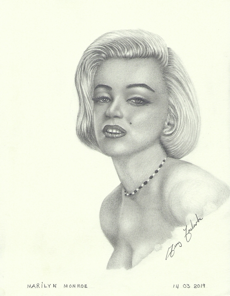 Marilyn Monroe by voyageguy@gmail.com
